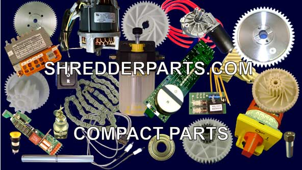 Compact Paper Shredder Parts