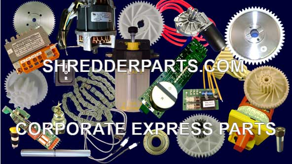 Corporate Express Paper Shredder Parts