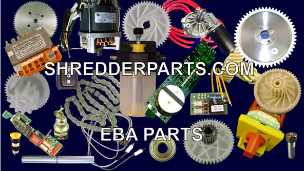 EBA Paper Shredder Parts