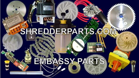 Embassy Paper Shredder Parts