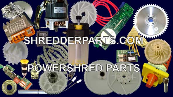 Powershred Paper Shredder Parts