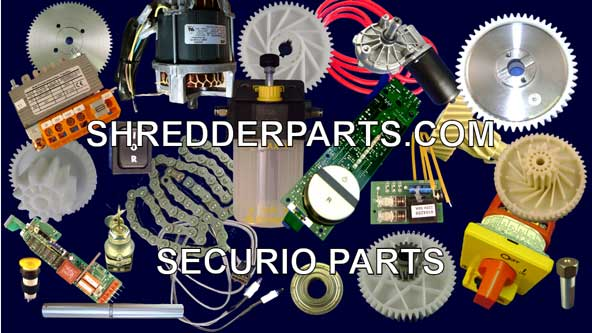 Securio Paper Shredder Parts