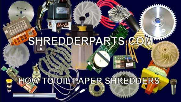 How to Oil Paper Shredders