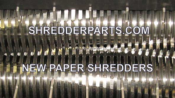 New Paper Shredder Blades