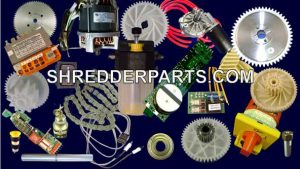 Replacement and Repair Parts for Paper Shredders