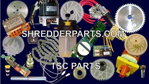 TSC Paper Shredder Parts
